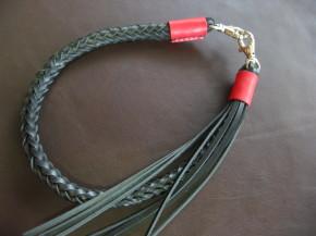 ウォレットロープ 八つ編み