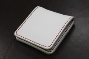 ホワイトシンプルコインケース