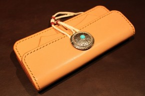 Center concho wallet